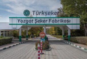 Burdur ve Yozgat Şeker Fabrikası'ndan üretim rekoru